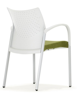 Trillipse Chair With Arms Rear Angle View