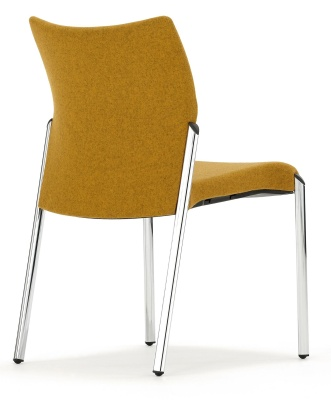 Trillipse Chair Fully Upholstered Back Angle