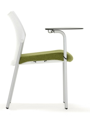 Trillipse Chair With Writing Tablet Side View