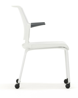 Ad Lib Moble Conference Arm Chair Side View