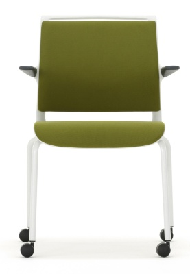 Mobile Conference Arm Chair Front Facing