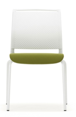Ad Lib Chair With An Upholstered Seat Front Facing