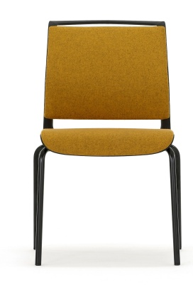 Ad Lib Fully Upholstered Conference Chair Front Facing