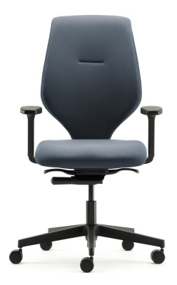 Ess Task Chair Black Base Height Adjustable Arms