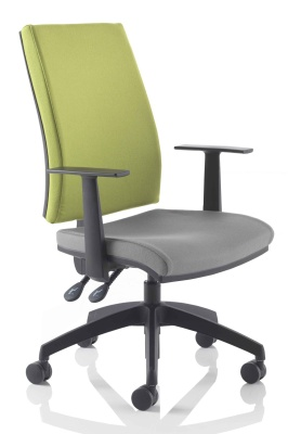 Track Task Chair With Height Adjustable Arms