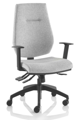 Vector Task Chair With A Black Base