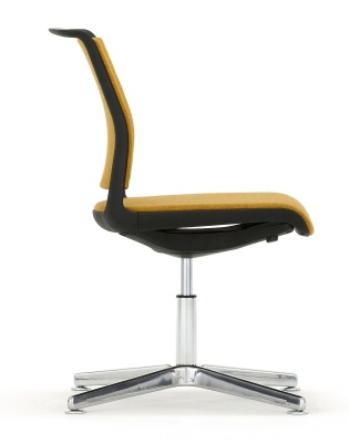 Ad Lib Four Str Conference Chair Fully Upholstered Side Shot