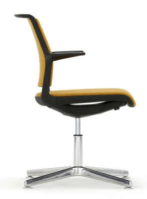 Adlib Four Star Conference Arm Chair Side View