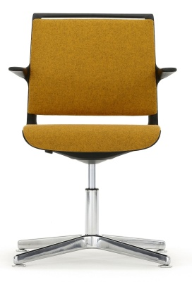 Ad Lib Conference Arm Chair Front Faing