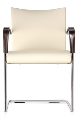 Castella Cantilever Chair Fully Upholstered Front View