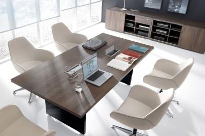 Mito Boardroom Table Overhead Shot