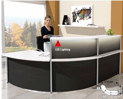 Genua Plus Reception Desks V2
