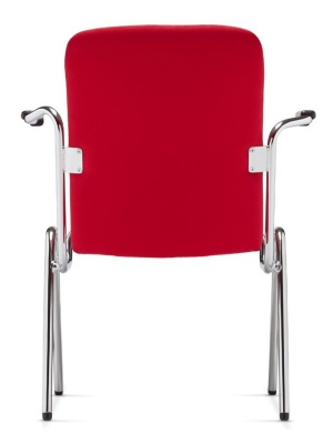 Stato Fully Upholstered Armchair Rear View