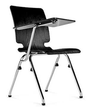 Axo Chair With Writing Tablet