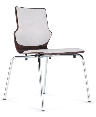 Conversa Conference Chair With An Upholstered Seat And Back