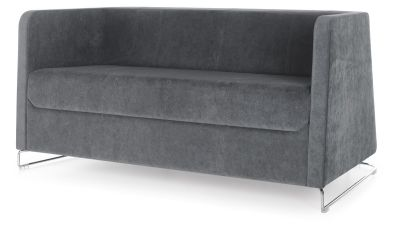 Granite Two Seater Sofa Front Angle 2