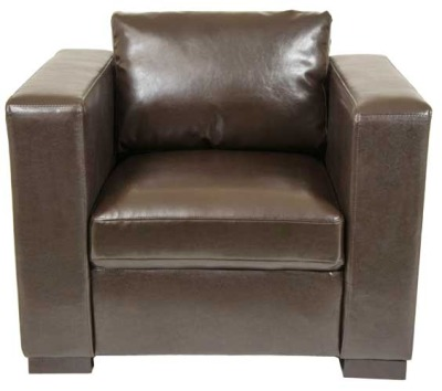 Ramsden Single Seater Leather Sofa