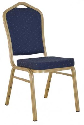 Melbourne Banqueting Chair In Blue