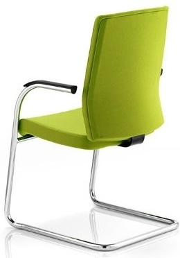 Opus Cantilver Conference Chair Rear Angle