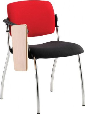 Alina Conference Chair With A Writing Tablet