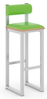 Otto High Stool With Back