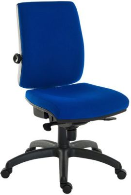 Ergo Star Chair Blue Fabric