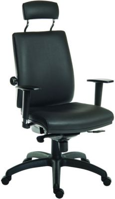 Ergo Star 24 Hour Chair Leather Look With Headrest