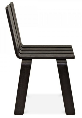 Fence Wooden Outdoor Chair Gside View