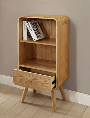 Memo Short Bookcase