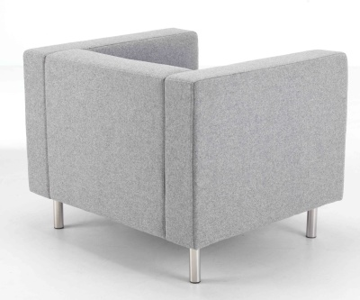 Bonus Contemporary Sofa Rear Angle