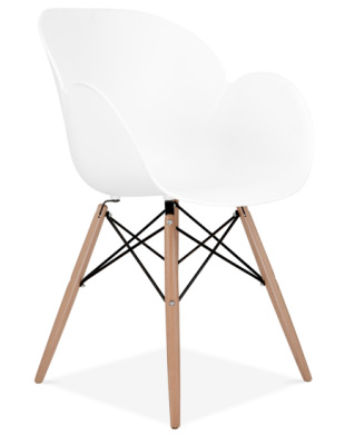 Eames Inspired Butterfly Chair Front Angle