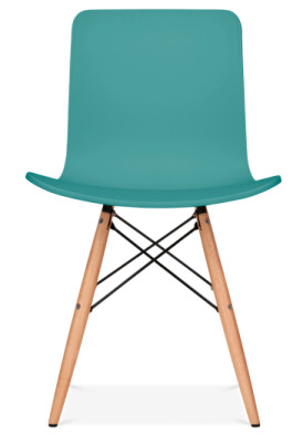 Vibra Chair In Teal Front Face