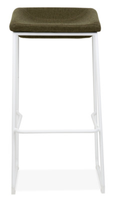 Kitsch High Stool With A White Frame Face Shot
