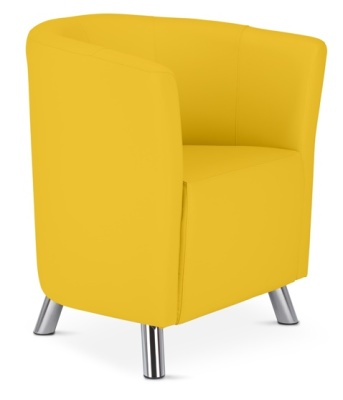 Rory Tub Chair In Yellow