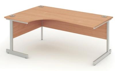 Abacus Left Hand Corner Desk