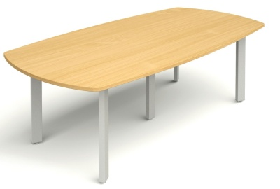 Abacus Large Barrel Shaped Meeting Table