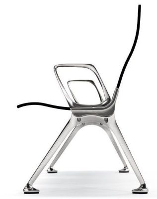 Profile Image Of Metal Beam Seating With A Style Legs And Part Reclined Back