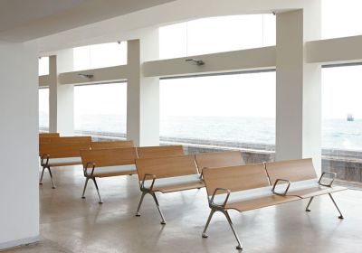 Meeting Room With Trastion Beam Seating With Arm Rests