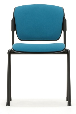 Max Conference Chair Fromt View Black Frame