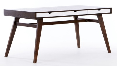 Rowan Trestle Table Rear Angle