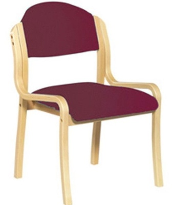 Derby Side Chair Red Fabric