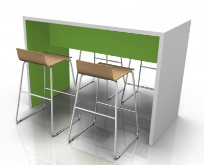 WG Poseur Table With Bar Stools