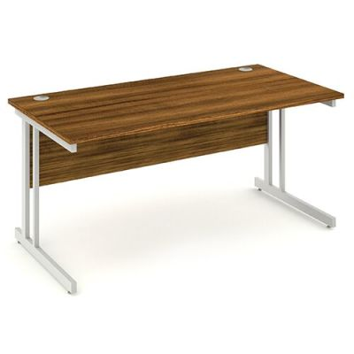 Revolution Rectangular Desk In Walnut