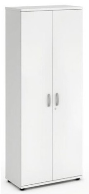 Revolution Tall White Cupboards