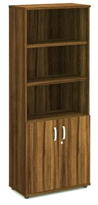 Revolution Tall Combination Cupboard In Walnut