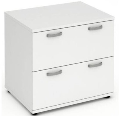 Revolution Two Drawer Side Filer Inmm White