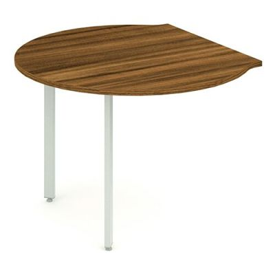 Revolution Large Desk Meeting End With A Walnut Top