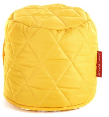 Buster Round Stool In Yellow