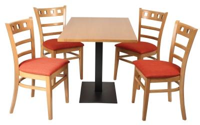 Alphine Dining Set 6 B