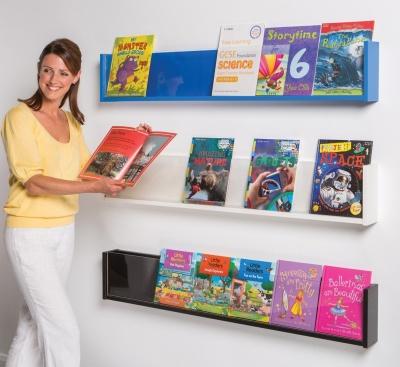 Colourway Wall Mounted Shelf Display